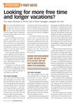 <em>Motor Age</em>, December 2017 - Looking for More Free Time and Longer Vacations?