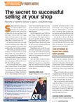 The Secret to Successful Selling at Your Shop