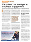 <em>Motor Age</em>, March 2019 - The Role of the Manager in Employee Engagement