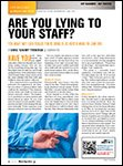 Motor Age, June 2013 Are You Lying to Your Staff?