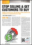 Motor Age, August 2013 Stop Sellling and Get Customers To Buy