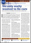 ABRN - Auto Body Repair News, April 2014 We Only  Really Wanted To Fix Cars