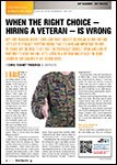Motor Age, May  2014 - WhenThe Right Choice - Hiring A Veteran - Is Wrong