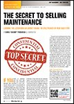 Motor Age, August  2014 - The Secret To Selling Maintenance