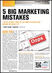 Motor Age, September  2014 - Five Big Marketing Mistakes