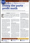ABRN - Auto Body Repair News, September 2014 Doing The Parts Profit Math