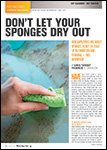 Motor Age, August 2015 - Don't Let Your Sponges Dry Out