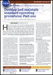 ABRN - Auto Body Repair News,  September 2015 - Develop and Maintain Standard Operating Procedures: Part One