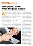 Motor Age, August 2016 - How Do You Know When The Price Is Right?