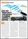 Motor Age, September 2016 - Are You Profitable? The Answer Is In Your Repair Orders