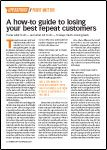Motor Age, December 2016 - A How-To Guide to Losing Your Best Repeat Customers