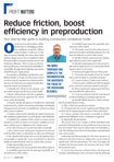 ABRN, April 2017 - Reduce Friction, Boost Efficiency in Preproduction