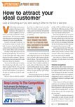 <em>Motor Age</em>, July 2017 - How to Attract Your Ideal Customer
